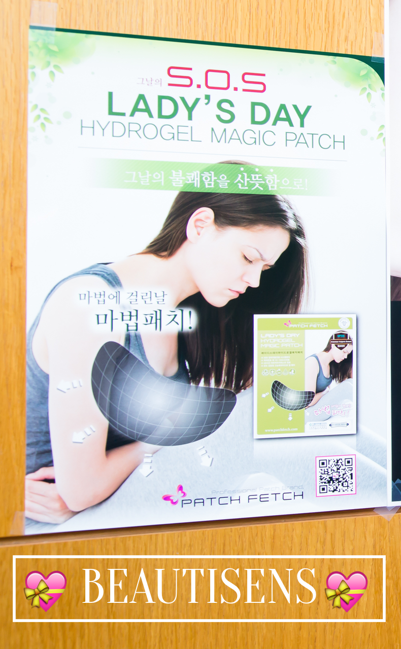 Review | Miếng dán đau bụng Lady's Day Hydrogel Magic Patch