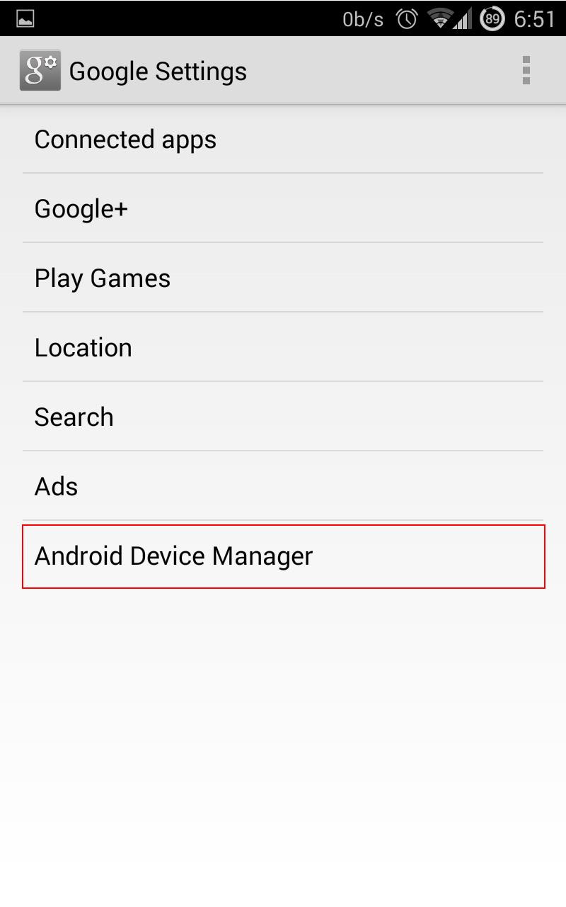 Lt Blak's Android settings