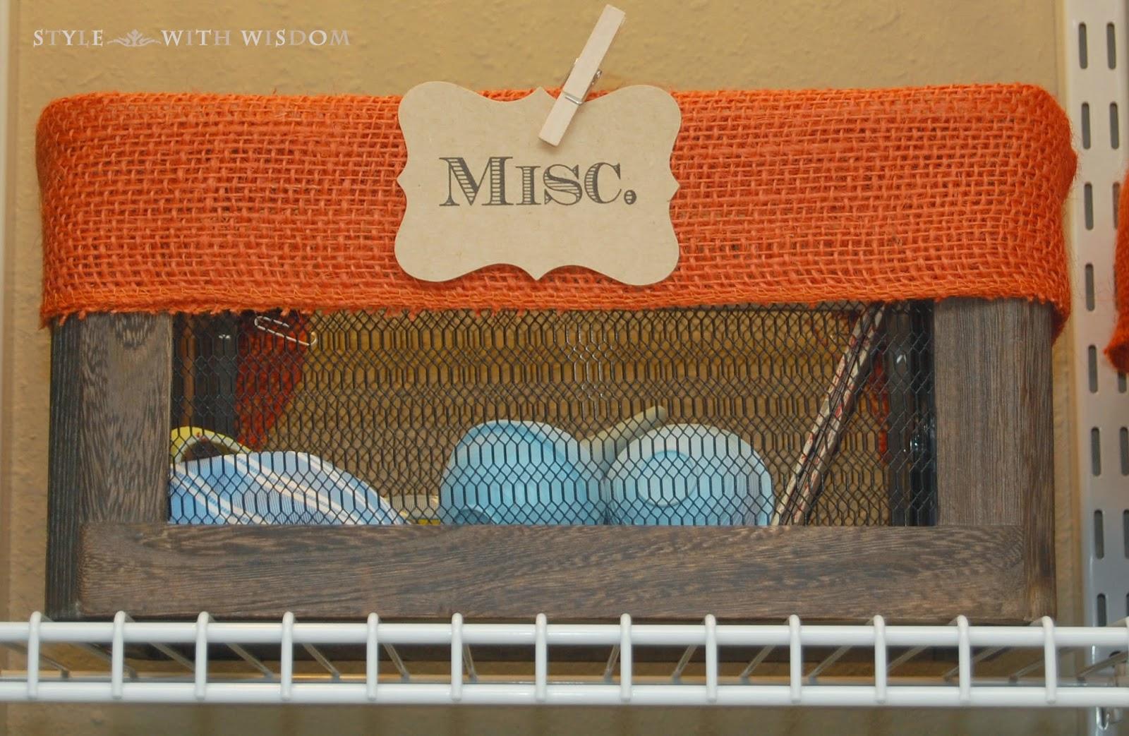 Woodland Nursery decor storage organization baskets