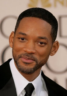 Will Smith Sports Beard Style with Very Short Hairstyle