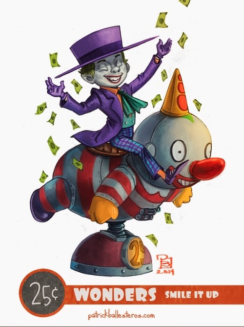 09-The-Joker-Patrick-Ballesteros-25-Cent-Wonders-Drawings-www-designstack-co