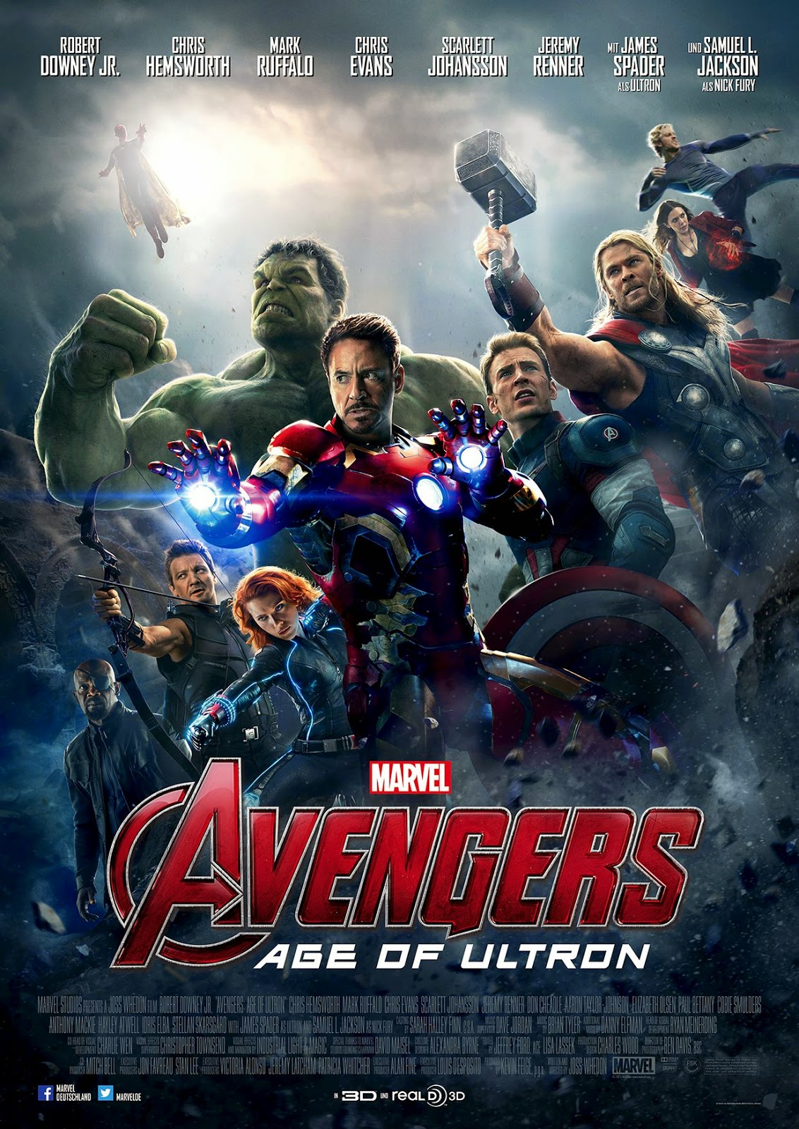 Avengers: Age of Ultron (2015) ταινιες online seires xrysoi greek subs