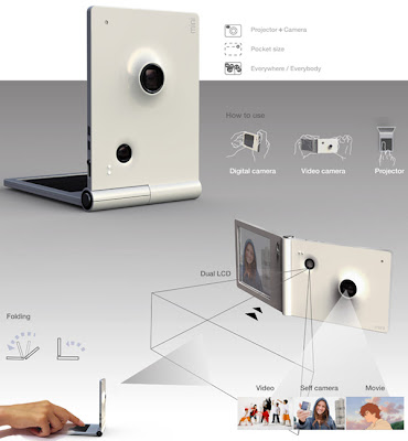 Creative Projectors and Unusual Projector Related Designs and Concepts (30) 12