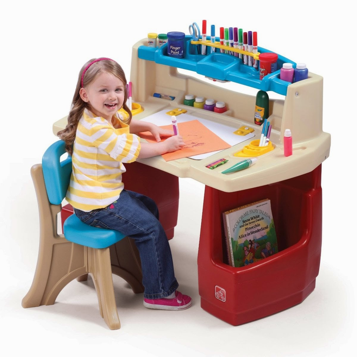 Art Desk Kids Preschool Play