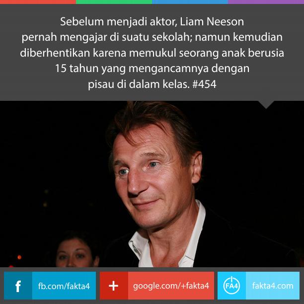 Liam Neeson Pernah Menjadi Guru