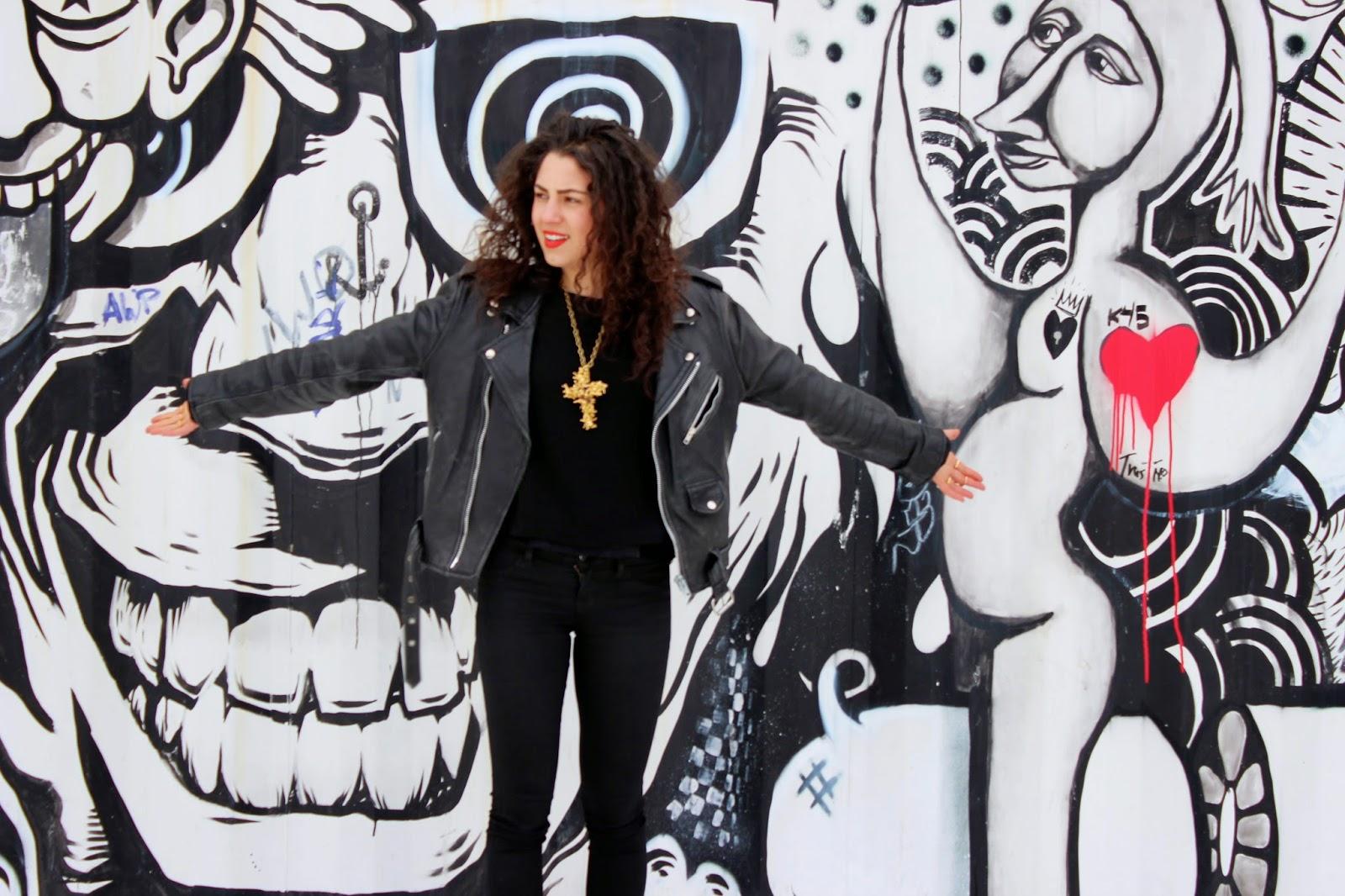 montreal st laurent street art mural festival gisele ganne jewellery crusader