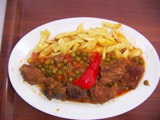 Gijón, Casa Segundo, Carne guisada