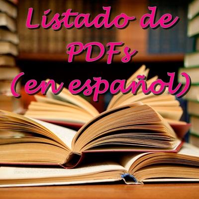 Listado de Pdfs