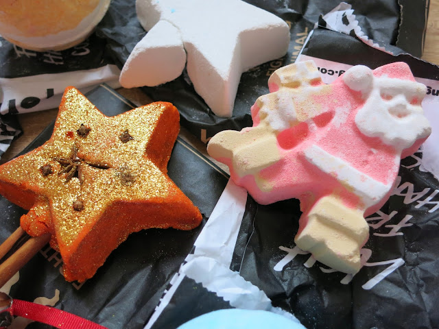 LUSH Autumn Haul 2015 The Magic Of Christmas Dashing Santa
