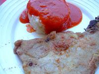 Filete De Cerdo Con Arroz Y Tomate