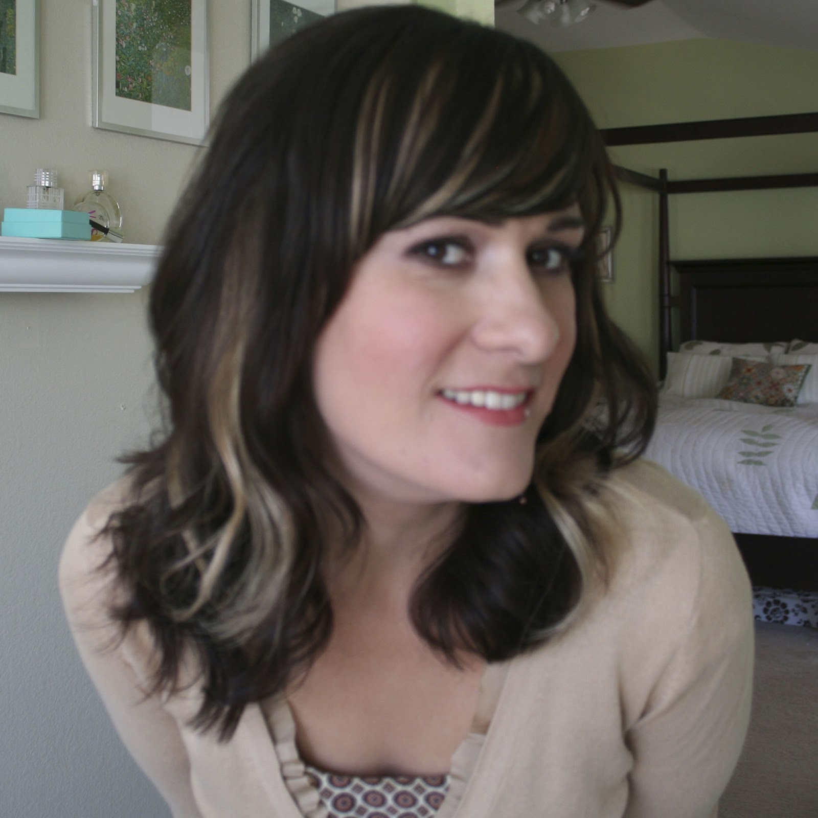 kitsch by kat hair challenge day 9 diy peek a boo highlight. Black Bedroom Furniture Sets. Home Design Ideas
