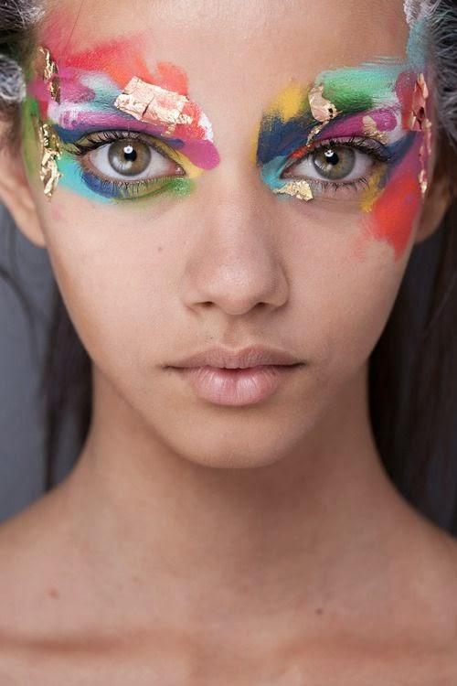 Ideias de maquilhagem e mascaras para o Carnaval