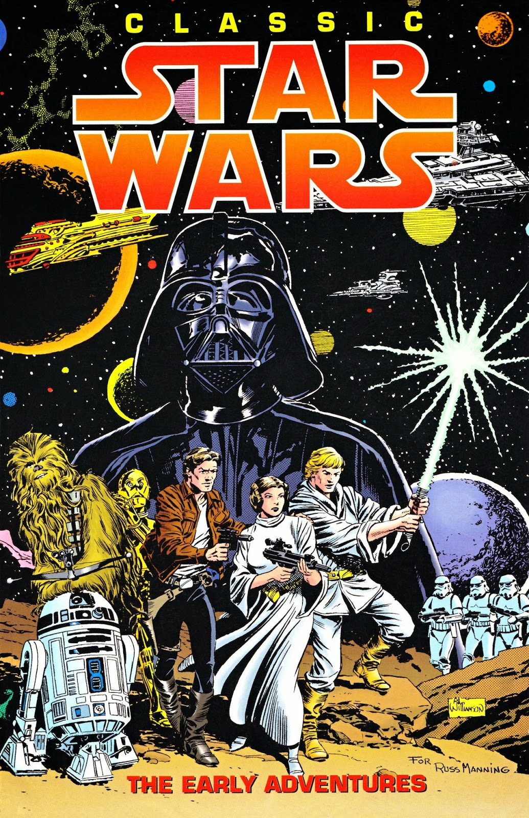 Al Williamson Star Wars cover