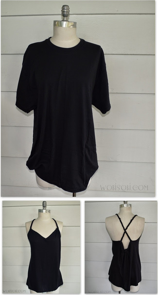 wobisobi braided back tee 4 diy