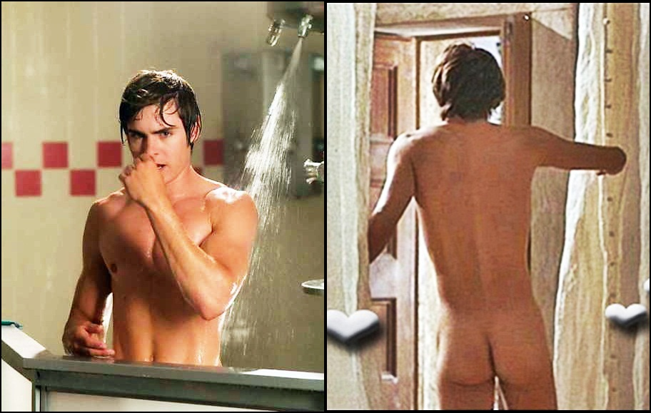 Zac Efron Shower Naked 114