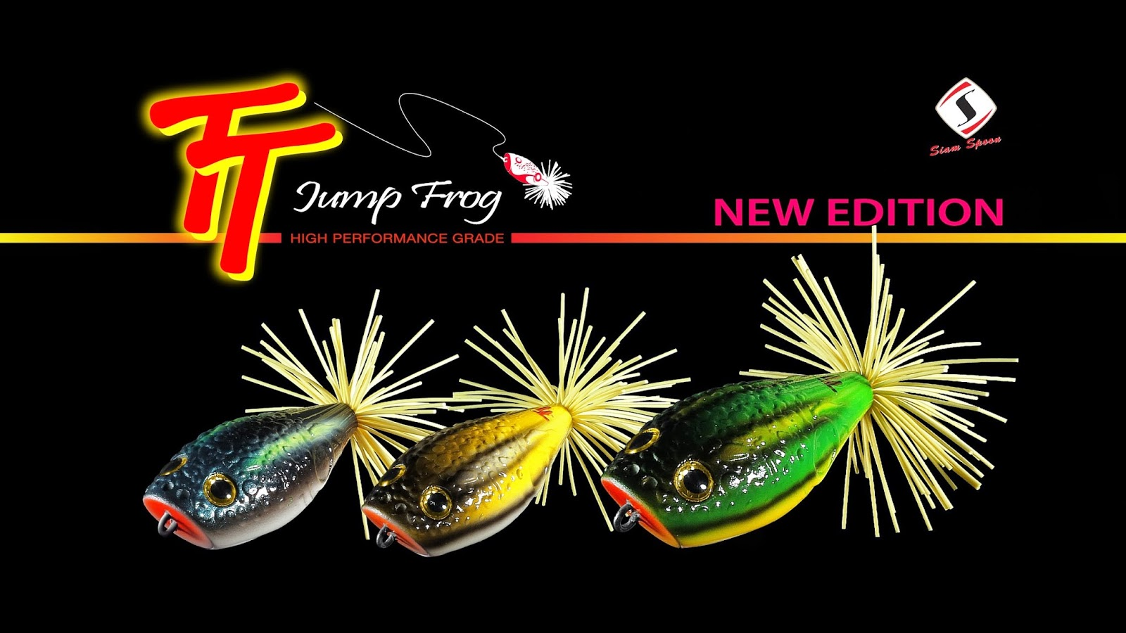 Video Review Jump forg lure by Siam Spoon
