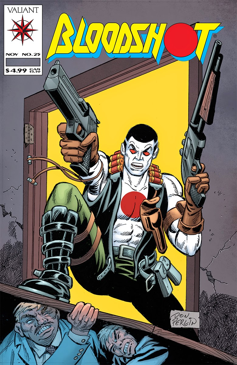 BLOODSHOT #25 – Throwback Variant by Don Perlin