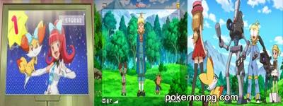 Pokemon XY - Capitulo 21 - ¡Hora del estreno! ¡¡Serena y Fennekin en PokéVisión!!