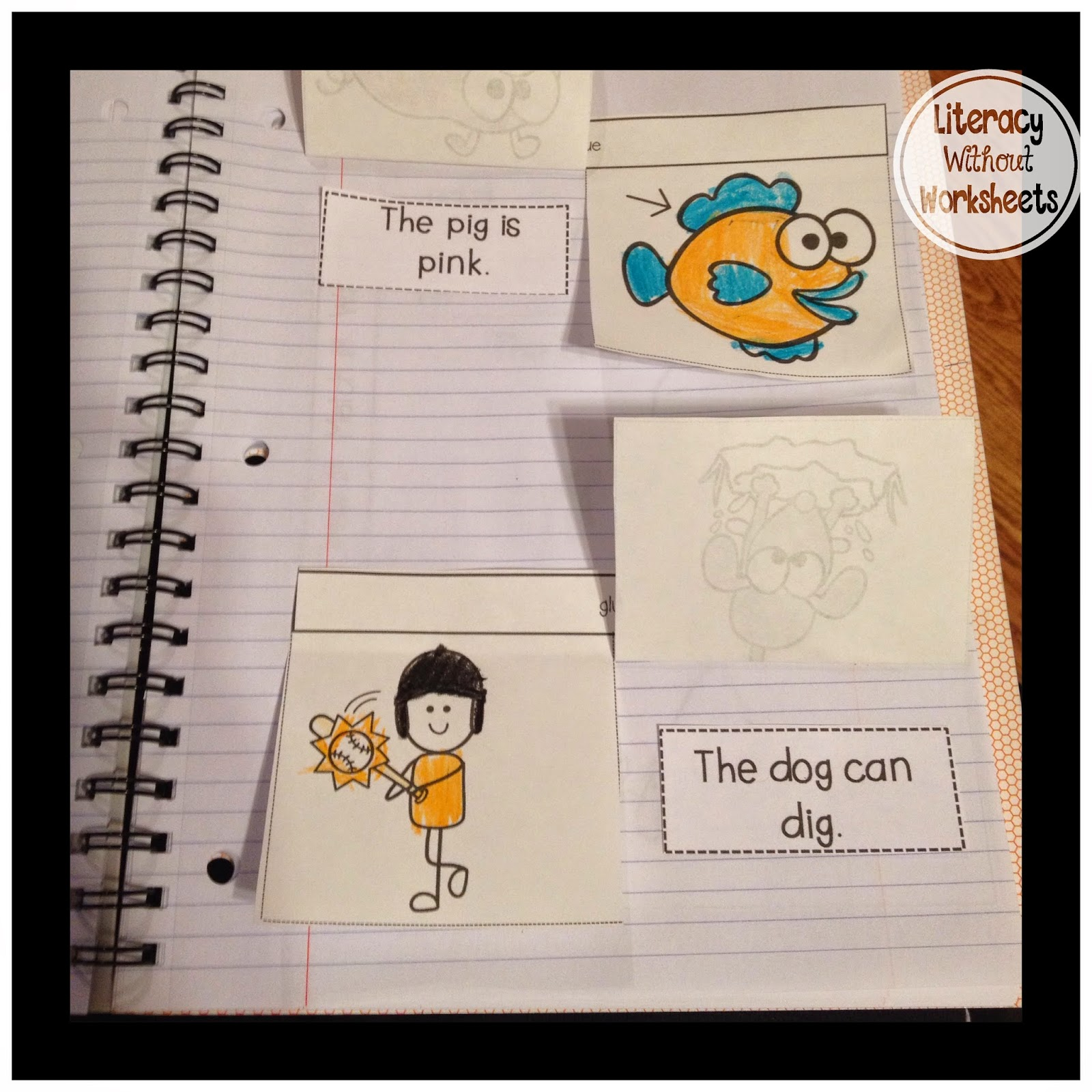 Tried it Tuesday! Interactive Notebooks - Literacy Without Worksheets