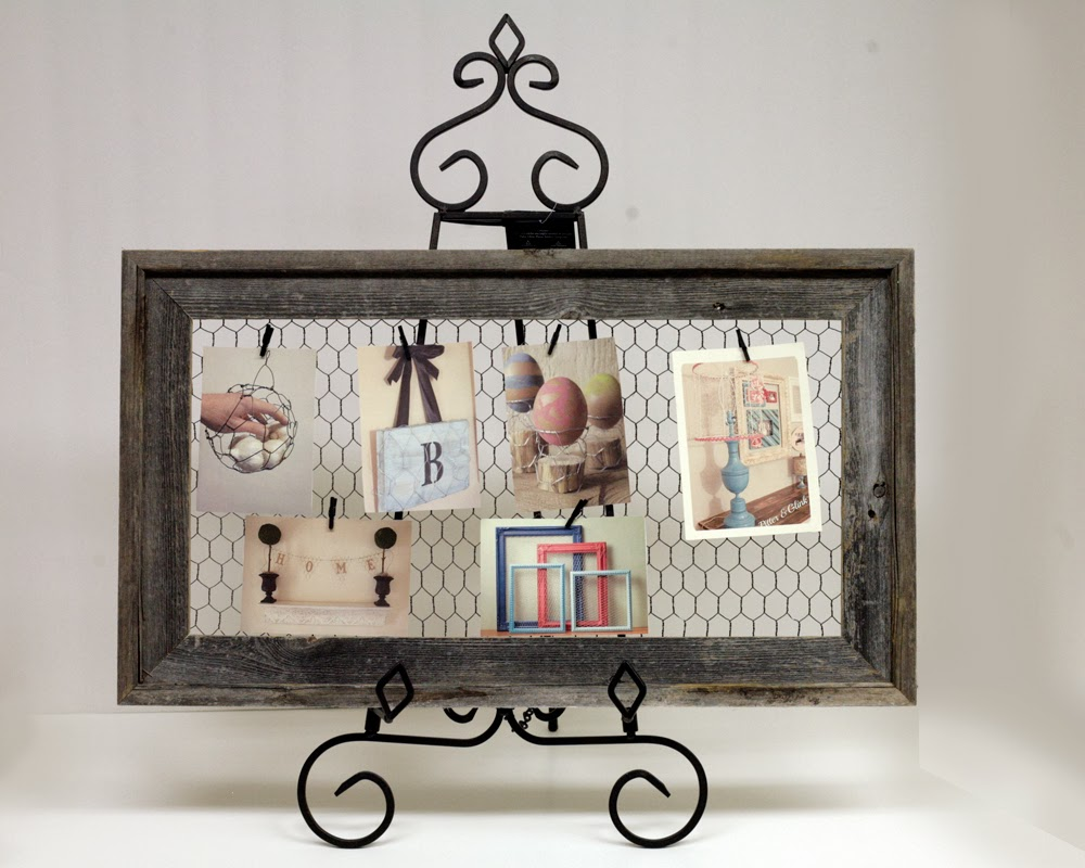 Ben Franklin Crafts and Frame Shop: Barnwood and Chicken Wire ...