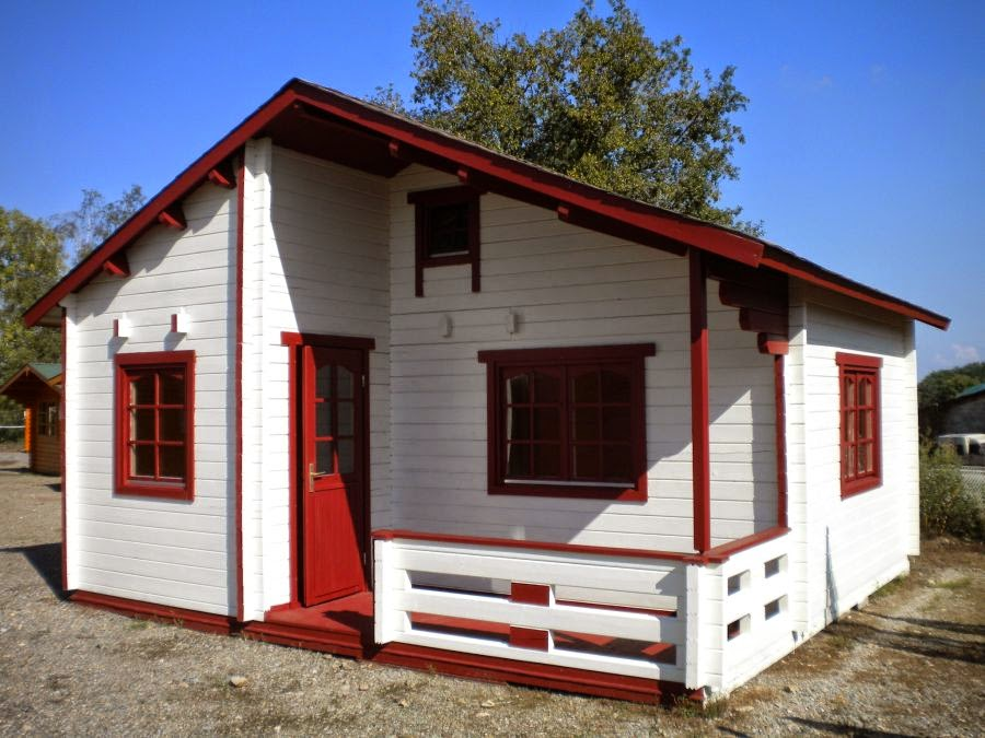 Casas de madera baratas bungalow de madera n rdica modelo for Casetas jardin baratas