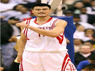 Biografi Yao Ming Pemain Basket Tertinggi Dunia
