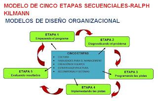 modelo de las cinco etapas secuenciales-modelos de estructuras organizacionales