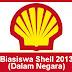 Biasiswa Shell Malaysia 2013 – Dalam Negara