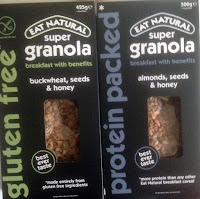 Eat Natural Granola Goodies And A Flapjack Tutorial
