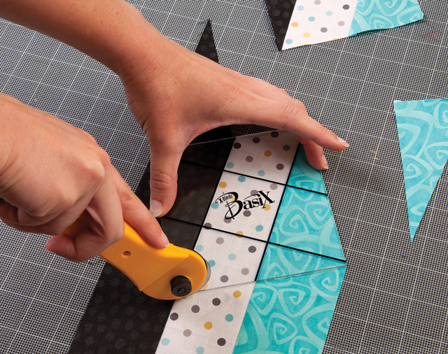 Quilting Template - BasiX - Quilt Queen Designs - Patricia Pepe