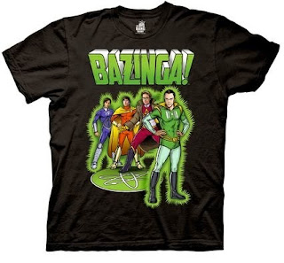 Click here to purchase your Big Bang Theory Comic Characters t-shirt at Amazon!