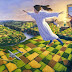 Fantásticas pinturas con ilusión óptica de Rob Gonsalves. (21 imagenes)