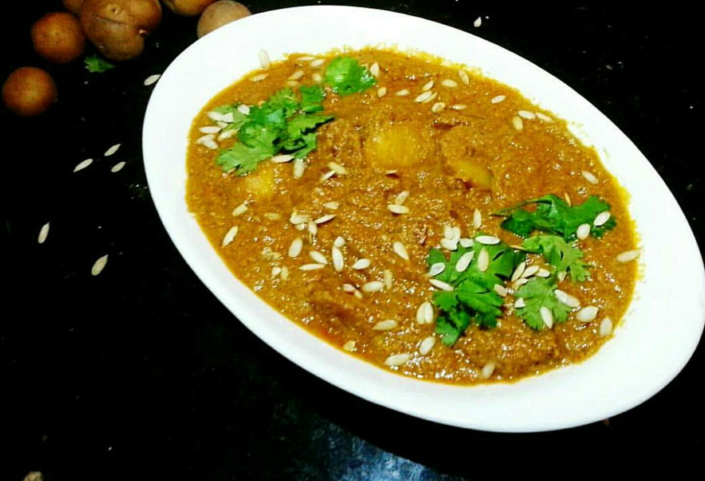 Mughlai Dum Aloo Recipe
