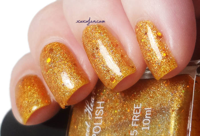 xoxoJen's swatch of Sweet Heart Polish I'm late! I'm late! I'm late!