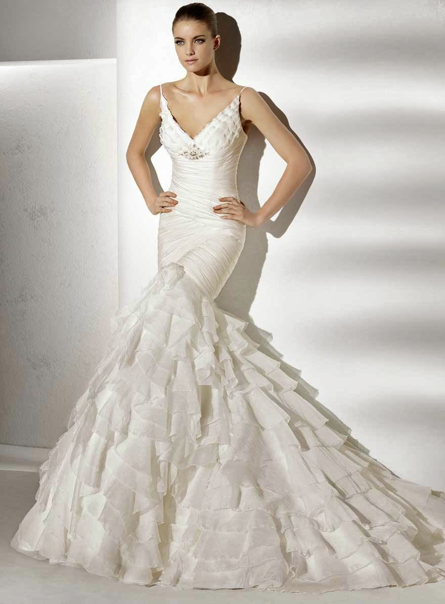 Mermaid Wedding Dresses Concepts Ideas Photos HD