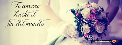 Portadas para Facebook con frases bonitas y romanticas