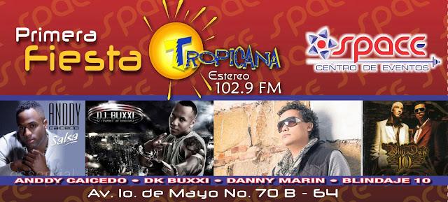 ► Primera Fiesta Tropicana