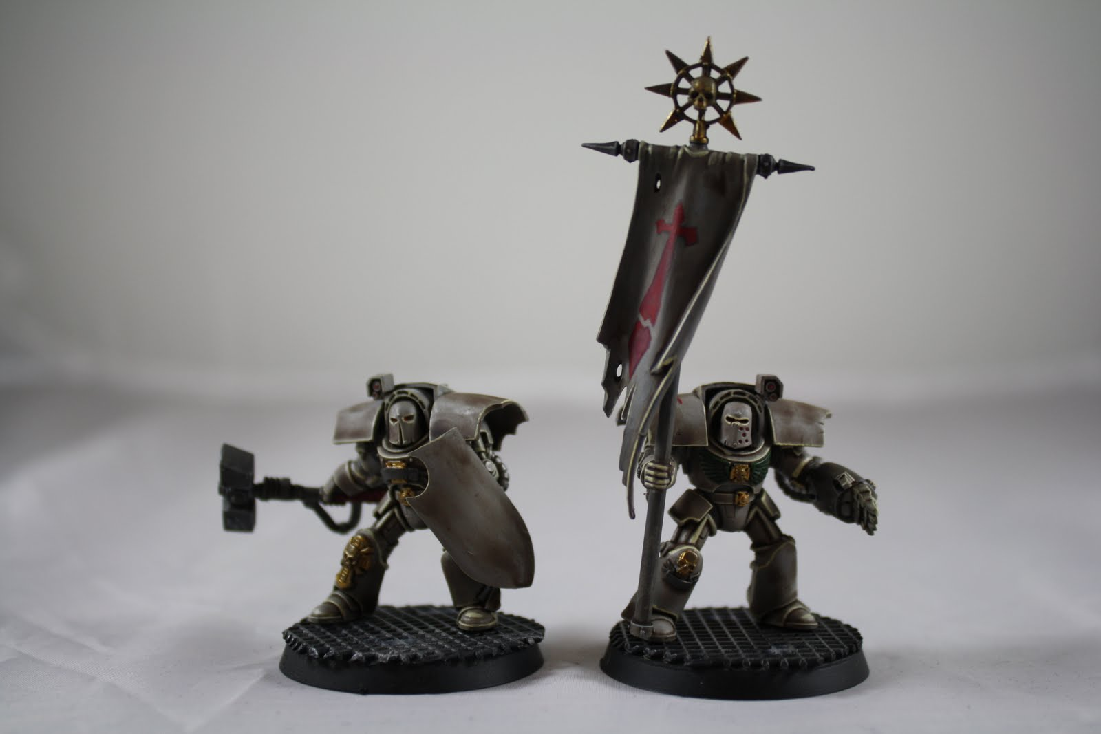 The Unforgiven Deathwing Command Squad Finished