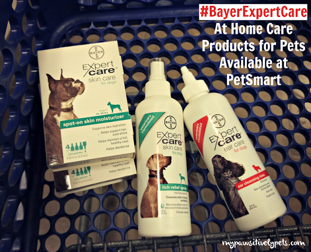 #BayerExpertCare at home pet care products are available at PetSmart
