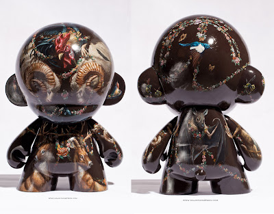 "Quartermaine Custom 18"" Mega Munny by Kalin Thompson"