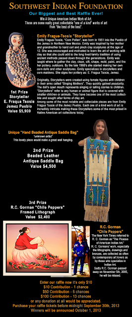 Southwest Indian Foundation's Biggest Raffle Ever!
