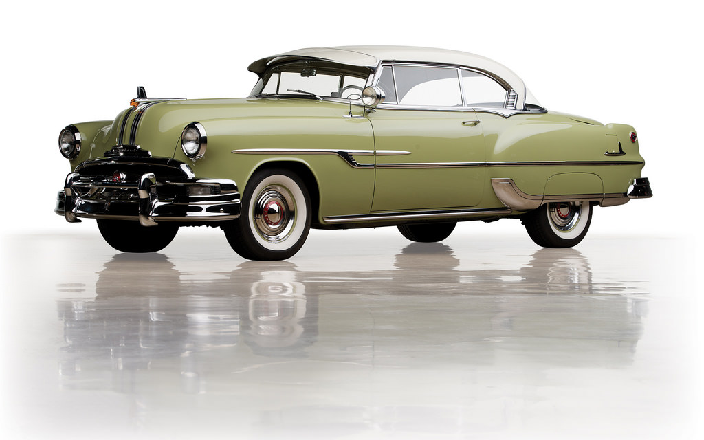 1953 Pontiac Chieftain Deluxe Eight Catalina Coupe  AutoPik