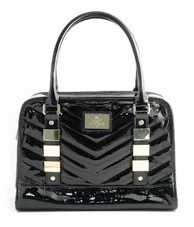 Juno Vitoria Patent Bowling Bag, £59