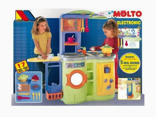 cocina juguete molto