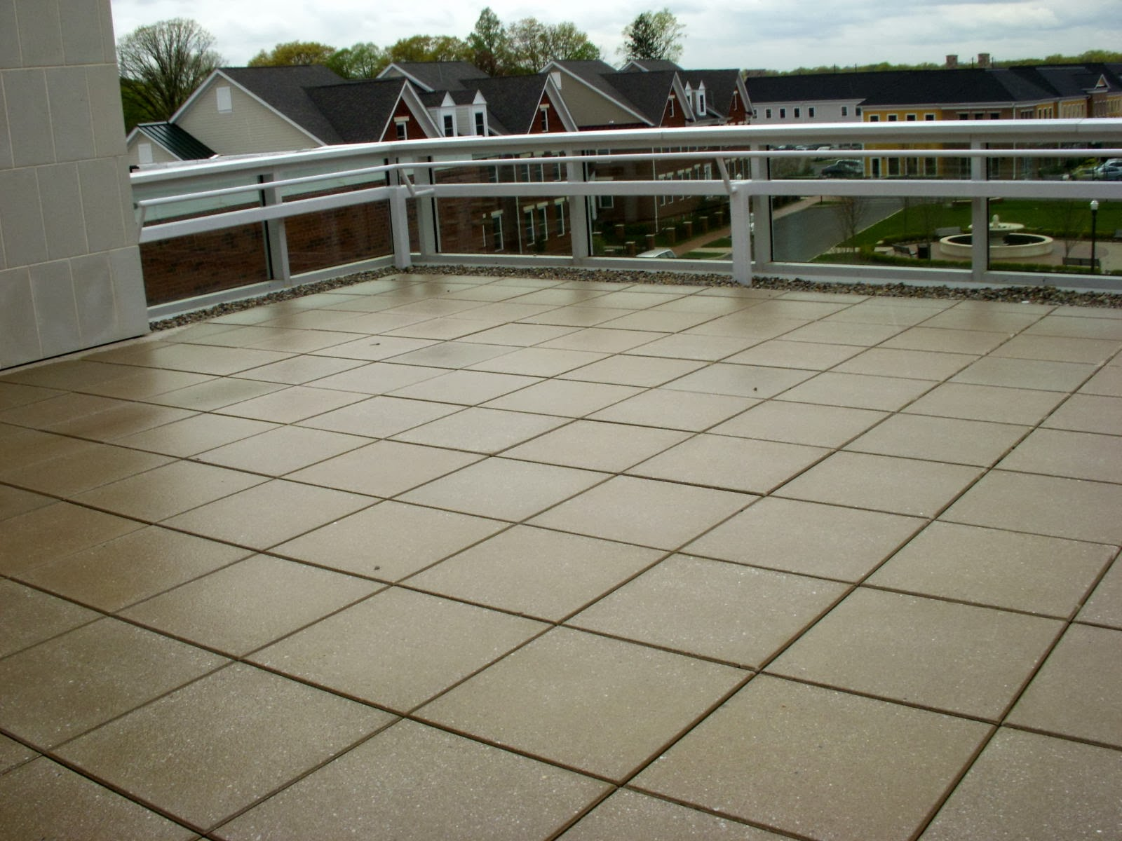 foundation dezin decor terrace tiles design
