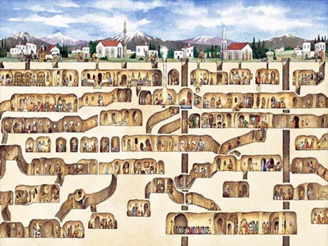Turkey Underground Cities