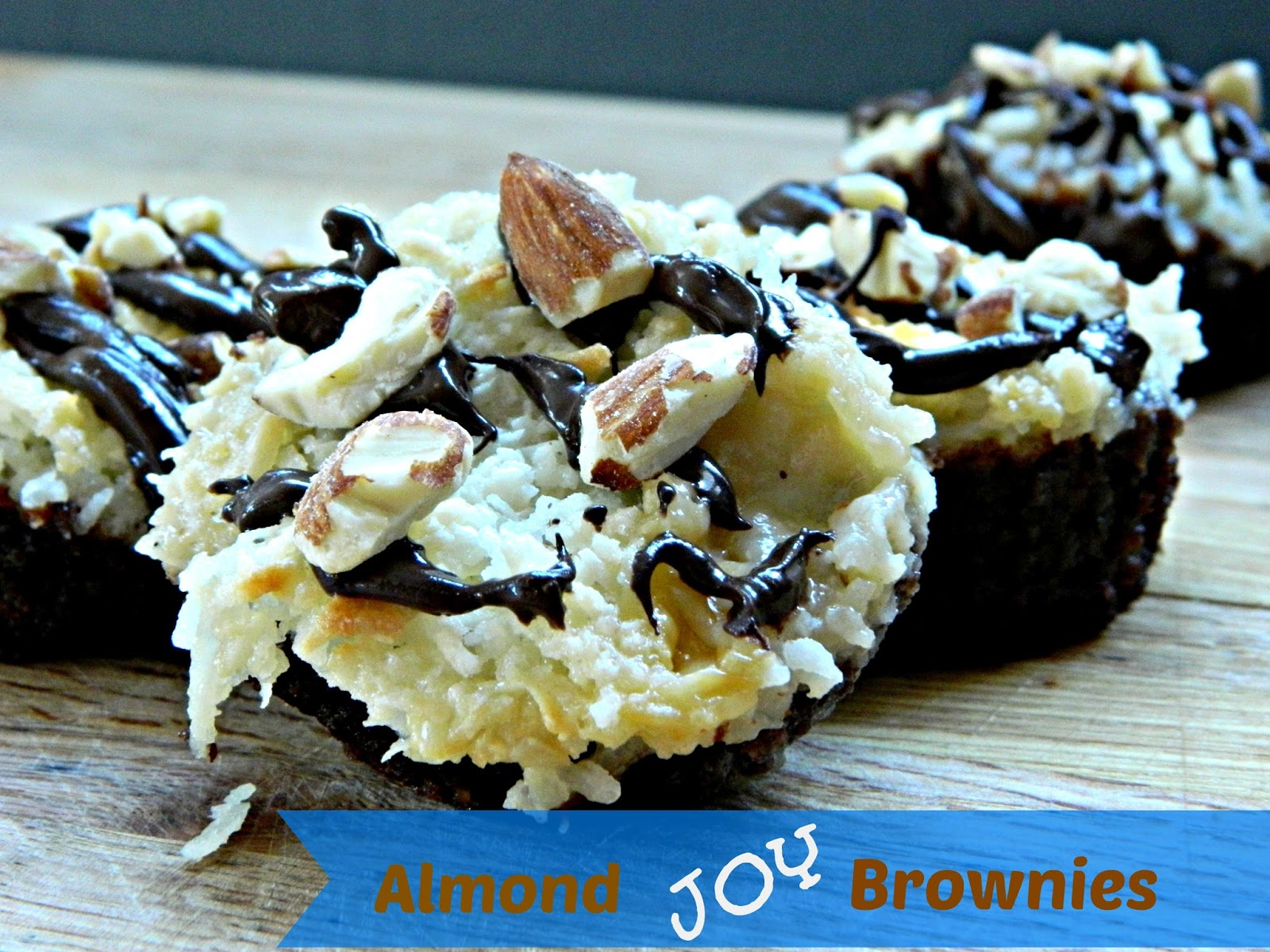Hun... What's for Dinner?: Almond Joy Brownies