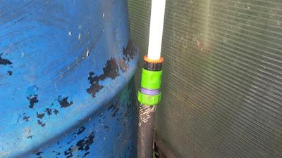 Как соединить шланг и пластиковую трубу