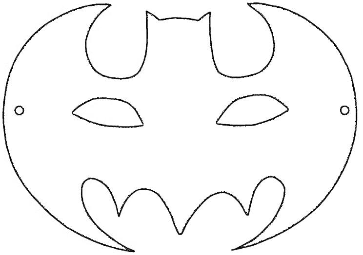 Simbolo de batman para colorear - Imagui