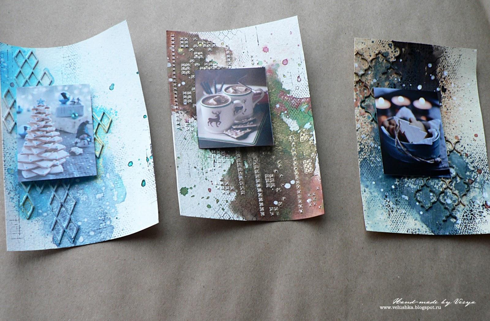 Как распечатать фото в виде открытки